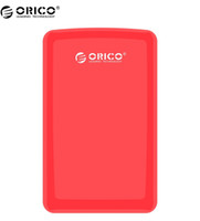 Wholesale orico hard drive case resale online - ORICO S3 Hard Drive Enclosure Portable Tool Free USB3 HDD Enclosure SATA3 HDD Case Caddy Red