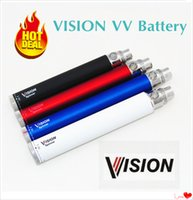 510 Vape Pen Vision Spinner 650 900 1100 1300 mah Cigarettes électroniques cigare Ego Twist 3.3V-4.8V Variable Voltage E cigs + eGo USB Charger