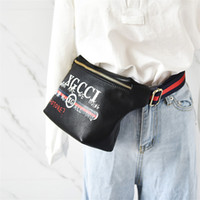 Wholesale Sports Belt Waist - pu Waist Bags women Fanny Pack bags bum bag Belt Bag Women Money Phone Handy Waist Purse Solid Travel Bag