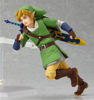 Wholesale Toy Sword Zelda - Anime legend about Zelda reference from the sky sword Figma 153 pvc figurines collection model children's toy dolls