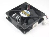 avc 12v dc fan großhandel-Freies Verschiffen für AVC DS09225B12U, P178 DC 12V 0.56A 4-Draht 4-Pin-Stecker 100mm 90x90x25mm Server Square Lüfter