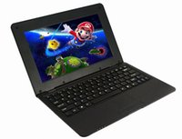 Wholesale Dual Core Pc Tablet Notebook - Wholesale- Original Dual Core 10.1 Inch notebook Android laptop HDMI Laptop Android 4.4 VIA 88801.5GHZ Wi-fi Mini Netbook