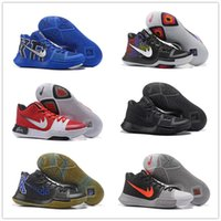 Low Cut sport march - 2017 March Madness Kyrie Irving University Colors Men s Basketball Shoes for Top quality Irving3 Sports Training Sneakers Size