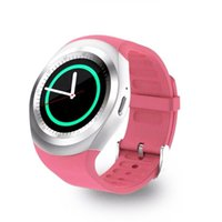 """Wholesale Gps Watch Calories - Free shipping Y1 Smart Watch 1.54"""" Touch Screen Fitness Activity Tracker Sleep Monitor Pedometer Calories Track support SIM card solt"""