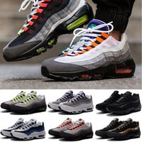 Wholesale Plus Size Shoes Boots - 2016 Plus Christmas Winter 95 Cushion 95 Sneakers Boots Authentic Maxes 95 Walking Outdoor Sports Shoes Size Eur 36-46