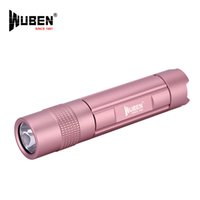 Wholesale Ion Waterproof - Rechargeable Flashlight CREE XP-G2-R5 LED Wuben E348 Mini torch lamp, 14500 Li-ion battery with Micro USB charging port Waterproof IPX8