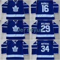 Wholesale Cheap Jerseys Wholesalers - Hockey Jerseys Cheap Toronto Maple Leafs Jersey Men's #16 Mitchell Marner #34 Auston Matthews #29 William Nylander Jerseys Wholesale