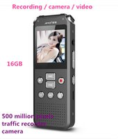 Wholesale Telephoto Video Camera - Wholesale-Camera Recorder Pen 16GB 720P HD Video Recording Micro Mini Telephoto Professional Authentic Stealth Mp3 500W Pixels Tachograph