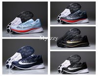 Barato Alto, Voando, Sapatos-[Alta qualidade] Air Zoom Vaporfly Elite Running Shoes Zoom 4% Fly SP Breaking 2 Marca Sneakers Men Sapatos de desporto Light Energy Boot US7-11