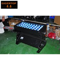 Wholesale Cities Auto - TIPTOP TP-W3612 New Design 36x12W RGBW Led City Light Smooth 4 Color Stage Background Led Projector Light 4 8CH Angle Adjustable