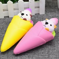 Wholesale Toy Squirrels For Kids - Squirrel ice cream Squishy Toy pegasus squishies Slow Cartoon ice cream sushi Soft Squeeze Cute Cell Phone Strap gift Stress for children