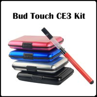 Wholesale Gift Box Ce4 - CE3 gift box Bud Touch Kit gift box Kit E Cig Batteries 280mAh Batteries 510 Thread kit vs CE4 Blister Kits