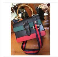 Wholesale Handbag Pu Shoulder Sling Bags - women bag2017 ladies leather luxury handbags women famous brands bags designer shoulder crossbody Bamboo handle sling sac a main