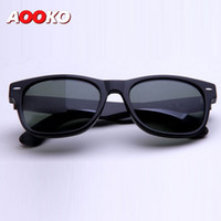 8fe50d5b1e UV400 protection High Quality Plank black Sun glasses glass Lens G15 Green  Sun glasses beach sunglass Polarized sunglasses 52 55