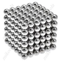 Wholesale Wholesale Magnetic Balls 5mm - Wholesale- New Style 216 x 5mm Magic Magnet Magnetic DIY Balls Sphere Neodymium Cube Puzzle