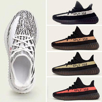 Wholesale Newest Snow Boots - SPLY 350 boost V2 2016 Newest BY9612 BY1605 Black Red Copper Green Bred Boost 350 running shoes Grey Orange running Shoes