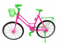 outdoor doll house - Detachable Handmade Doll Plastic Bike Outdoor Accessories For Barbie Doll Kid s Pretend Play House Toys Baby Best Gift