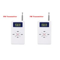 Wholesale Personal Portable Radios - Wholesale-2pcs Radio Mini FM Transmitter Personal Station Stereo Audio Converter 70MHz-108MHz Receiver Y4309B