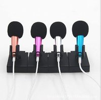 Wholesale Microphone Conference Meeting - 2016 Brand new Luxury wired connector Microphone K song voice tube micrphones For Conference Karaoke Teaching Meeting sing