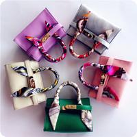 Wholesale baby girl brand purses - 9 Colors bags Children's Fashion Handbags Kids Mini Totes Baby Girls Brand New Purse Preschool Girls Coin wallets DHL free shipping CK132