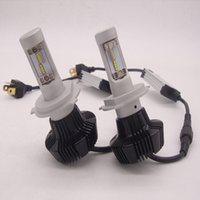 Wholesale Replace Car Headlights - 160W 16000LM CREE LED HEADLIGHT H1 H4 H7 H10 H11 9005 9006 6000K white Auto Conversion Car LED Kit Replace Halogen xenon