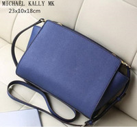 Wholesale 2017 new fashion women famous brand MICHAEL KALLY handbags selma message tote shoulder tote bags purse PU leather summer beach bag