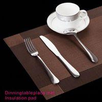 tissage plus proche achat en gros de-Tissage en PVC de haute qualité, ne se décolore pas, résiste bien à la chaleur, tapis de table à manger, accessoires de décoration de table.