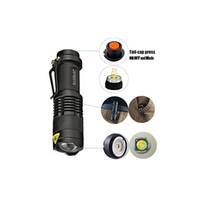 weiße magnethaken großhandel-2017 Rockbirds LED Taschenlampe, A100 Mini Super Helle 3 Modus Taktische Taschenlampe, Beste Werkzeuge für Wandern, Jagd, Angeln und Camping