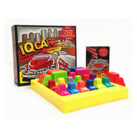 "Wholesale Game Car Racing - ""IQ Car "" Board Game Puzzle Automobile Race IQ Car Teaser Games Education Game For Kids"