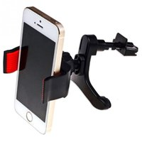 Wholesale Iphone4s Car - Wholesale- New Car phone Holder Stand For iPhone4s 5s 6 plus for samsung s4 s5 Universal car air vent Mobile Phone Holder soporte movil car