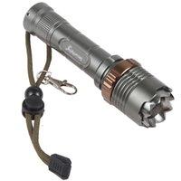 Wholesale Cree Xml U2 Tactical Flashlight - Zoomable 1800 Lumen High Power CREE XML U2 LED Flashlight Torch 18650 LED Flash Light with 7 Modes LEF_289