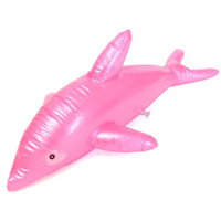 Wholesale Blow Up Pools - Wholesale- NEW ARRIVAL 1x BLOW UP Dolphin Inflatable Beach Pool Rider Toy Kids Party Favor Funny Prop