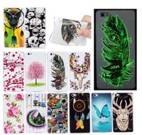 Wholesale Skin Back Cover Luminous Glow - Fashion Design Luminous Glow in the darkness Soft Silicone IMD TPU Case For Huawei P8 lite P8lite Fundas Back Cover Skin Phone cases