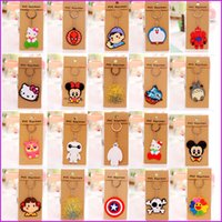Wholesale Cartoon Anime Silicone PVC Cute Hello Kitty Owl keychain Fashion Keychain Key Chain Ring Holder Christmas Gifts