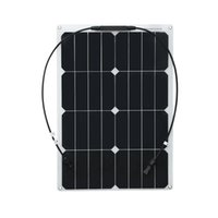 Solarpats 1pc 30w pannello solare flessibile sunpower cell per home power / barca / camper / yacht batterty caricabatterie