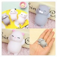 New Slow Rising Squishies Lindo Mochi Squishy Cat Squeeze Curación Diversión Niños Kawaii kids Adult Toy Stress Reliever Decor Phone Phone Phone Charm