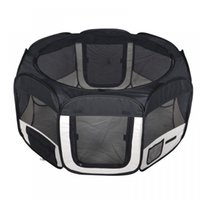 Wood black canopy tent - New Small Black Pet Dog Cat Tent Exercise Play Pen Soft Crate