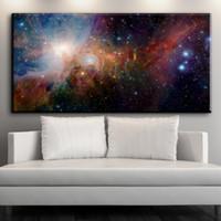 tela de pintura a óleo espacial venda por atacado-ZZ1549 modern canvas abstract canvas art universo space canvas pictures pintura a óleo da arte para decoração de casa arte da decoração da parede