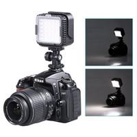 Wholesale Dv Video Light - CN-LUX360 5400K Dimmable LED Video Light Lamp for Canon Nikon Camera DV Camcorder