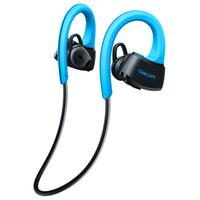 Wholesale Ear Headphones W Mic - Dacom P10 Bluetooth Headset IPX7 Waterproof Wireless Sport Running Headphone Stereo Music Earphone Headsfree W mic For Swimming Epacket