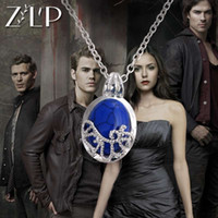 Wholesale Silver Plated European Necklace - Vampire diaries European and American actress Catherine the necklace with silver - plated sun - proof pendant