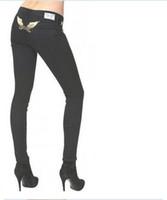 Wholesale Brand New Ladies Jeans - New arrive 2017 robin jeans Female denim Elastic skinny pants designer famous brand ladies Jeans plus size 27 28 30 32 34