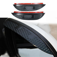 Windshield outlander film - For MITSUBISHI outlander Eyebrow Rearview mirror rain gear sticker auto accessories per set Car styling