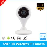 Wholesale Ip Night Vision Surveillance Systems - Home Security WIFI Mini IP Camera V380 720P HD Night Vision Wireless Indoor & Outdoor Security Surveillance System