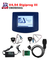 Wholesale Dodge Obd2 - Newest V4.94 Digiprog III Odometer Programmer With OBD2 ST01 ST04 Cable Digiprog3 Mileage Change Tool DHL Free shipping