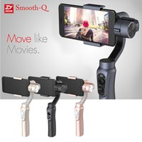 "Wholesale Wholesale Axes - Zhiyun Smooth-Q 3-Axis Handheld Gimbal Camera Stabilizer Wireless Control Panorama Mode for Smartphone 3.5"" to 6"" D4623"