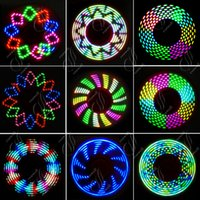 Wholesale Lighted Novelty Toys - New LED Light Variable Flash Fidget Spinner Toy EDC Hand Spinners With Switch Triangle Plastic Finger Tip Decompression Novelty Rollver Toys