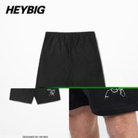 Wholesale China Clothes For Men - Wholesale-England Fashion Skateboard Shorts For Men Heybig Swag HIP HOP bottoms 2016ss Grind clothing China Sizing Customization for 50pcs