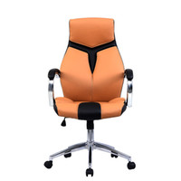 Goplus Ergonomic PU Leather High Back Escritorio de computadora ejecutiva Task Office Chair