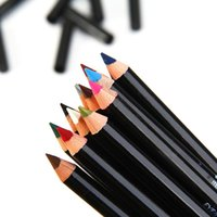 женские комплекты оптовых-Wholesale- 12 Pcs Set Ladies Colorful Waterproof Eyeliner Pencil Long Lasting Eye Pencil Kit  Cosmetics Eye Liner Pencil Kit